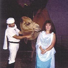 Zafira and camel